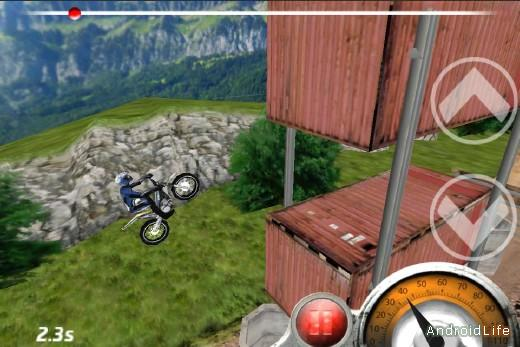 Trial Xtreme - v.1.8 - мото симулятор для Android