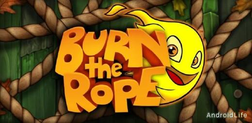 Burn The Rope игра  для Android