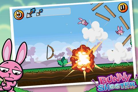 Bunny Shooter Free game for Android