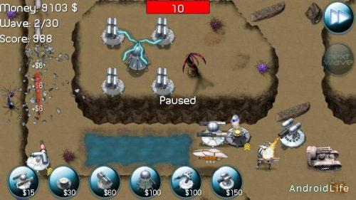 Tower Defense: Nexus Defense  для Android