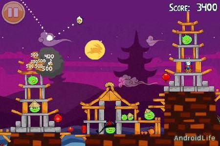 Angry Birds Seasons: Moon Festival для Android