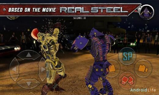 Real Steel HD драки для Android