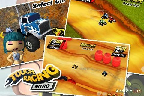 Touch Racing Nitro - маленькие, не значит плохие!