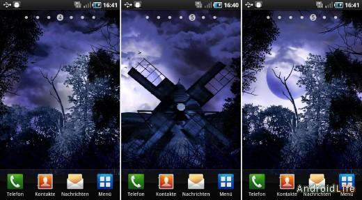 Night Shadow Live Wallpaper