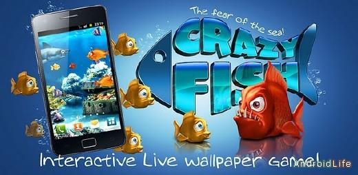 Crazy Fish Live Wallpaper