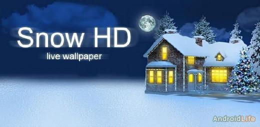 SNOW HDLive Wallpaper