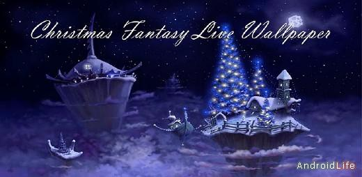 Christmas Fantasy Live Wallpaper