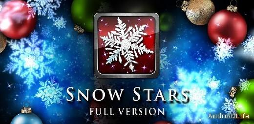 Snow Stars FULL Live Wallpaper