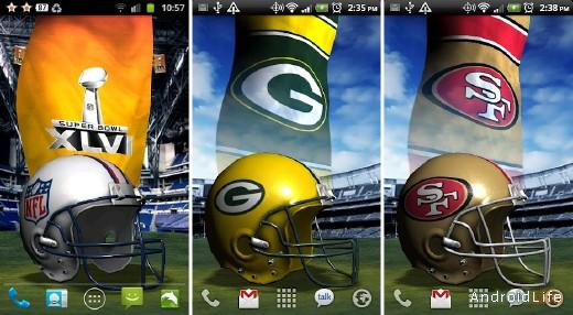 NFL 3D Live Wallpaper Unlocked