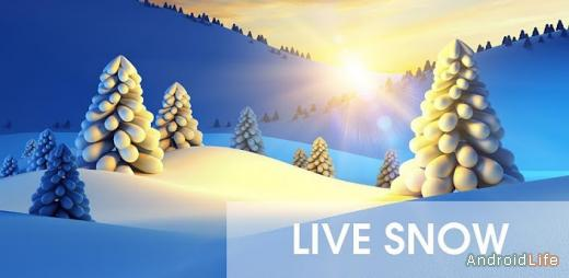 Snow Live Wallpaper Premium