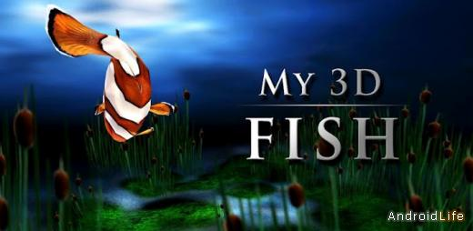 My 3D Fish Live Wallpaper