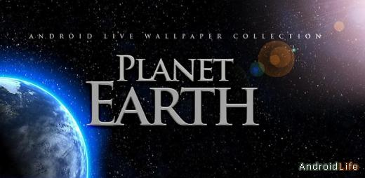 Planet Earth 9 Live Wallpaper