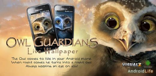 Owl Guardians Live Wallpaper