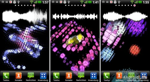 Cubic Patterns Live Wallpaper