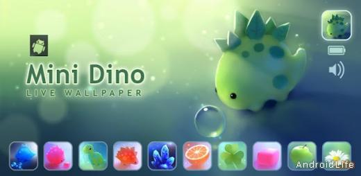 Mini Dino Live Wallpaper
