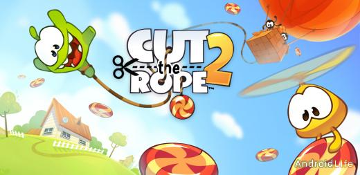 Cut the Rope 2 - лучшая аркада 2014 года!
