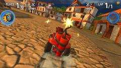 Beach Buggy Racing - Типичная гонка